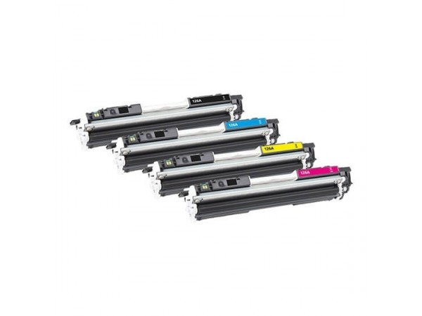 HP CE310A/311A/312A/313A Set cartuse compatibile