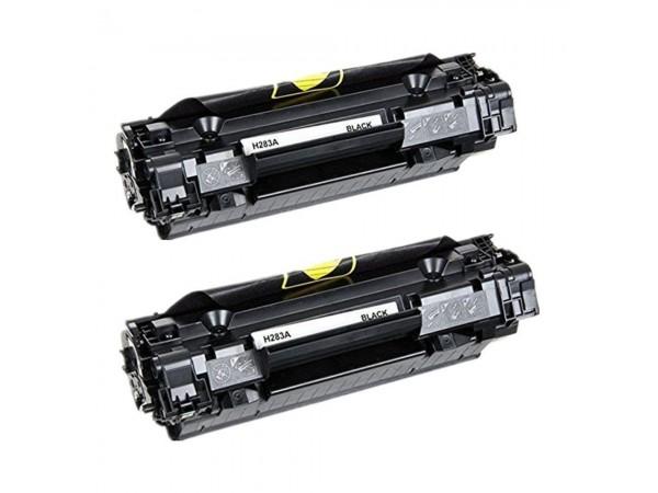 HP CF283a Set 2 Cartuse Toner Compatibil
