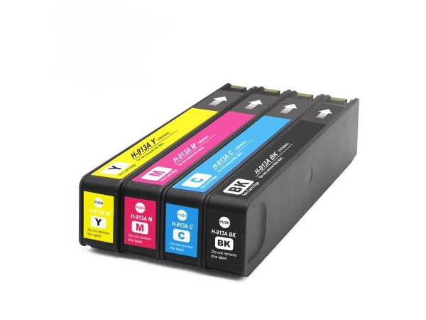 Cartus compatibil HP 913 Cyan