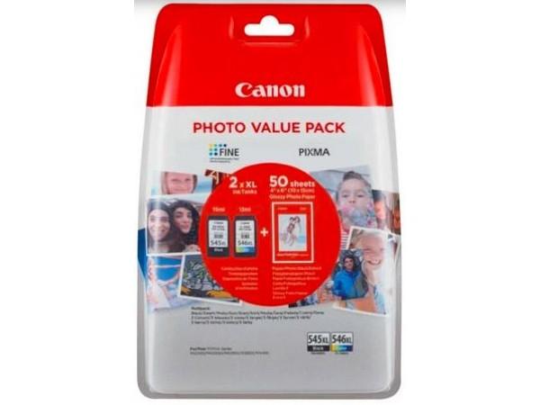 Cartus cerneala Canon PG-545XL + CL-546XL, multipack