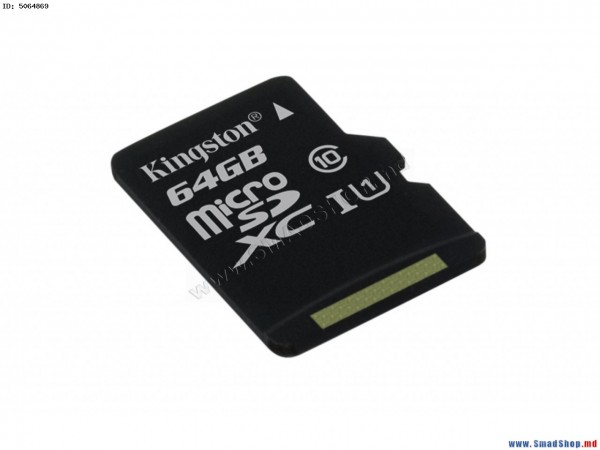 Card de memorie Kingston MicroSDXC, 64GB