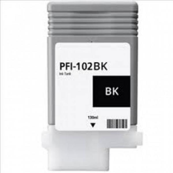 Cartus compatibil cerneala Canon PFI - 102BK