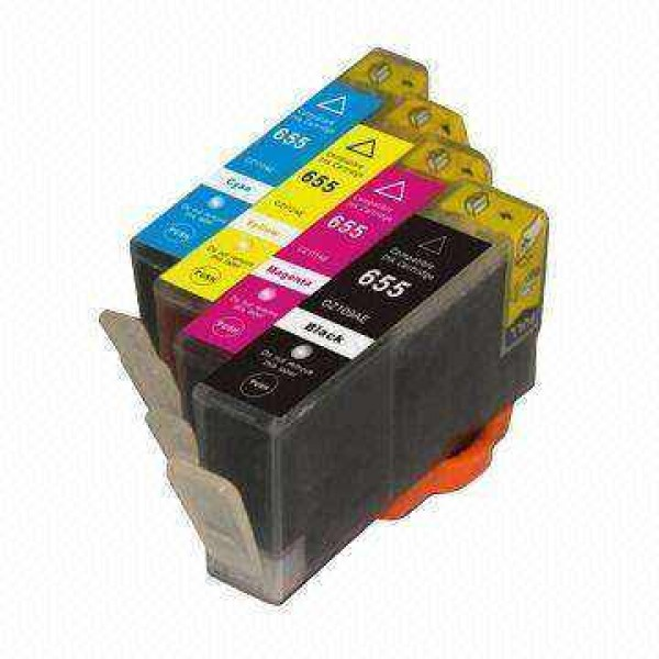 Cartus compatibil HP 655 Yellow