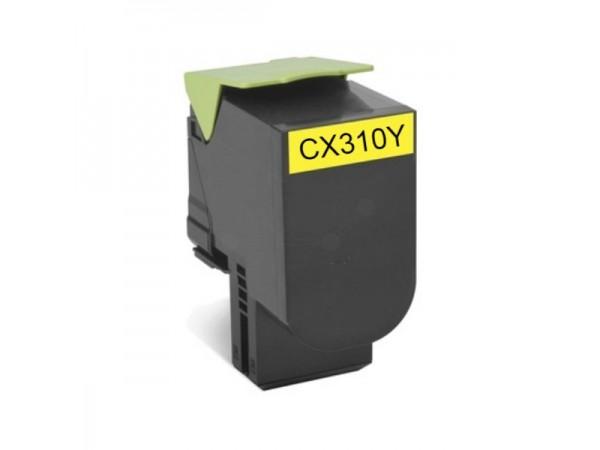Cartus compatibil Lexmark CX310/CX410/CX510 Y - 80C20Y0