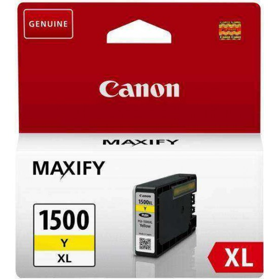 Cartus Original Canon 1500 XL Yellow