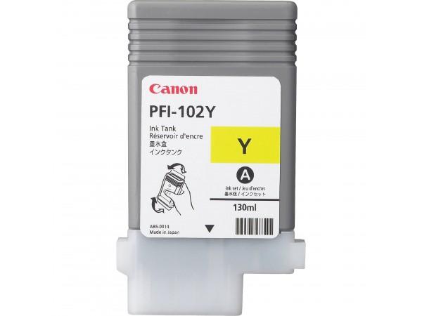 Canon Dye Yellow PFI-102Y Cartus cerneala