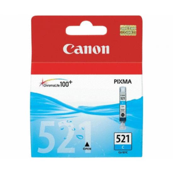 Cartus Original Canon 521 Cyan