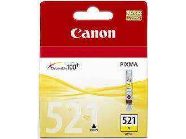 Cartus Original Canon 521 Yellow