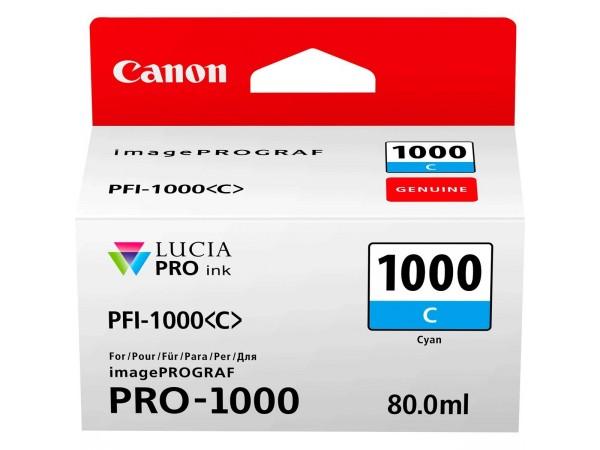 Cartus cerneala Canon Cyan PFI-1000C