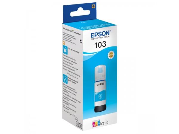 Cartus original Epson 103 Cyan