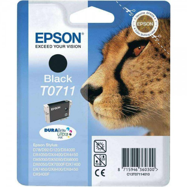 Cartus original Epson T0711