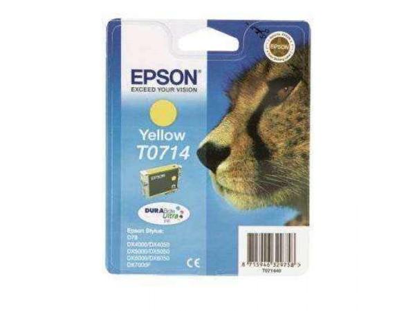 Cartus original Epson T0714