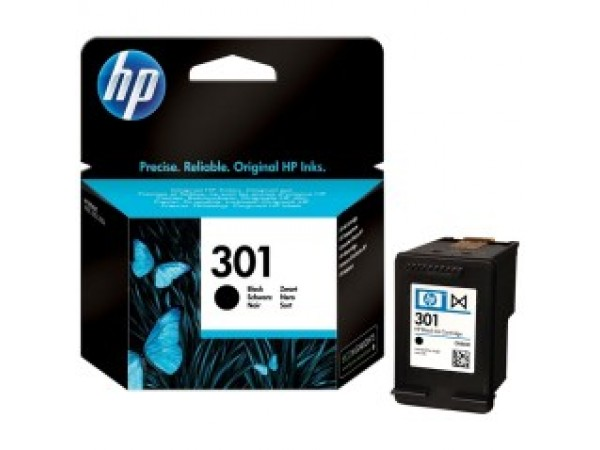 Cartus original HP 301 Negru