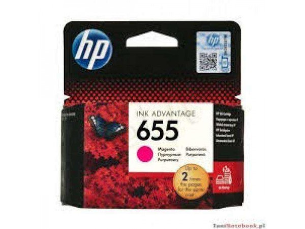 Cartus original HP 655 Magenta