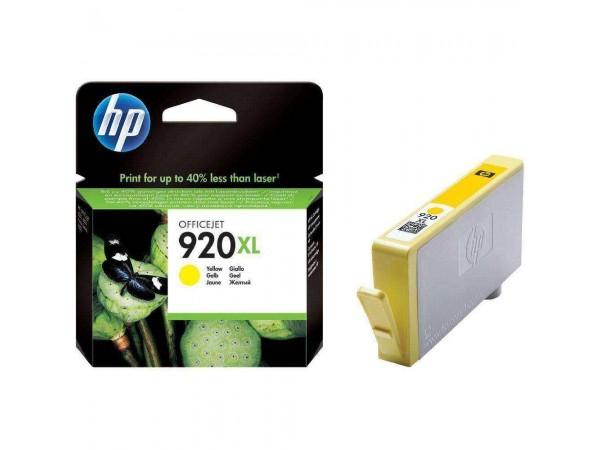 Cartus Original HP 920 XL Yellow