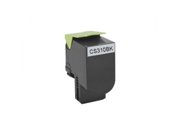 Cartus compatibil Lexmark CS310/CS410/CS510 BK - 70C2HK0