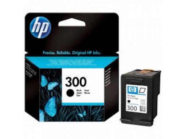 HP 300 Negru Cartus Original