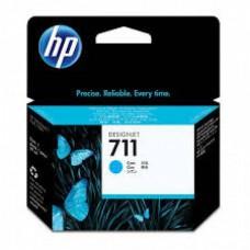 HP 711 Cyan Cartus original