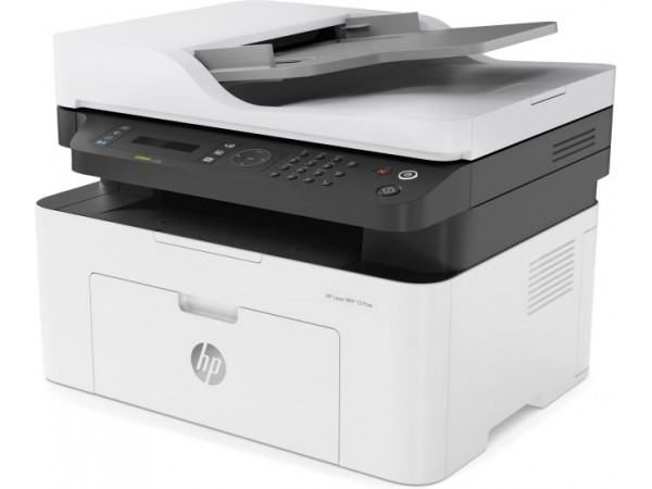 Multifunctional HP monocrom, wireless, A4, MFP 137fnw