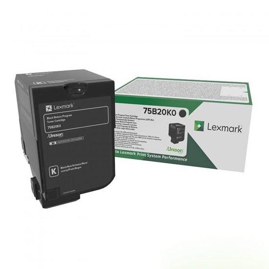 Lexmark 75B20K0 cartus original - Black