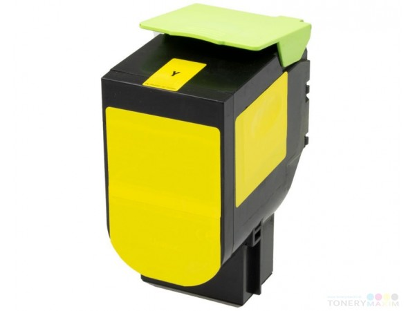 Lexmark CS417 Yellow ( 3.500 pagini ) - 71B0H40 cartus compatibil