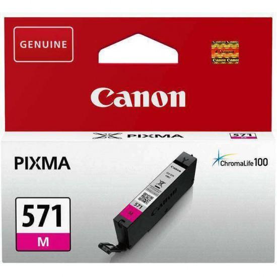 Cartus Original Canon 571 Magenta