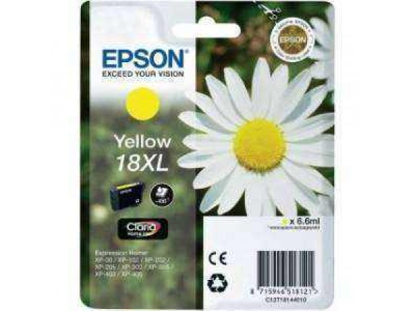 Cartus Original Epson 18 Yellow