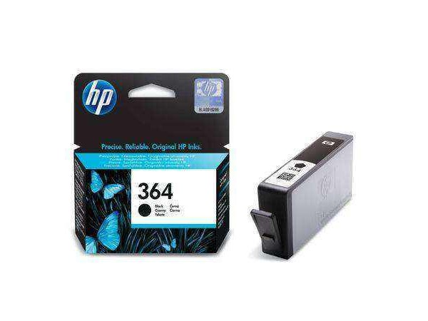 Cartus Original HP 364 Negru