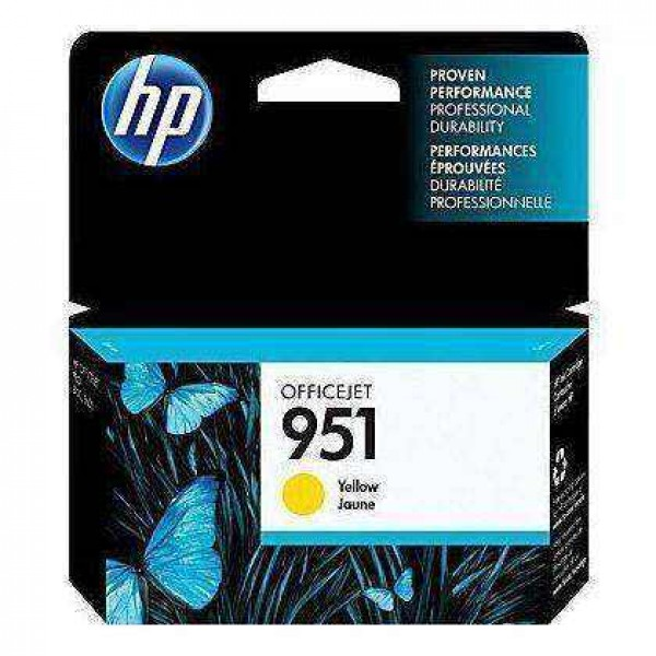 Cartus Original  HP 951 Yellow