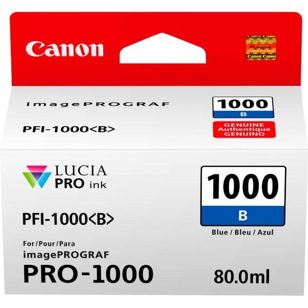 Cartus cerneala Canon Blue PFI-1000B