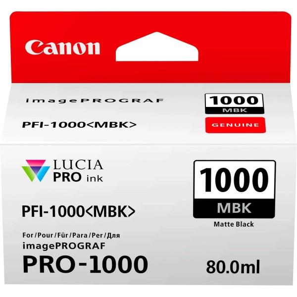 Canon Matte Black PFI-1000MBK Cartus cerneala