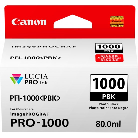 Canon Photo Black PFI-1000PBK Cartus cerneala