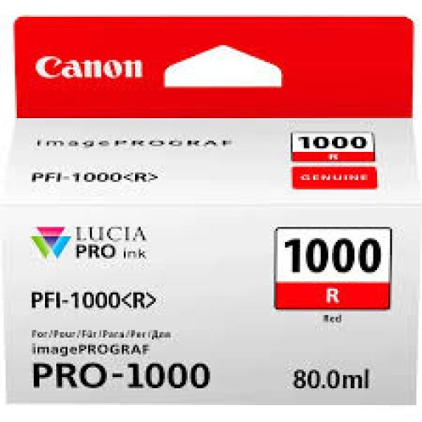 Canon Red PFI-1000R Cartus cerneala