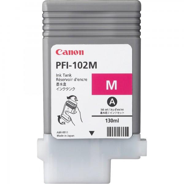 Cartus cerneala Canon Dye Magenta PFI-102M