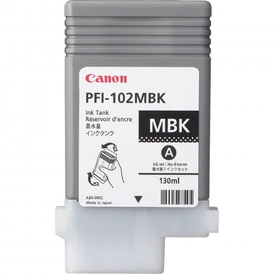Canon Dye Matte Black PFI-102MBK Cartus cerneala