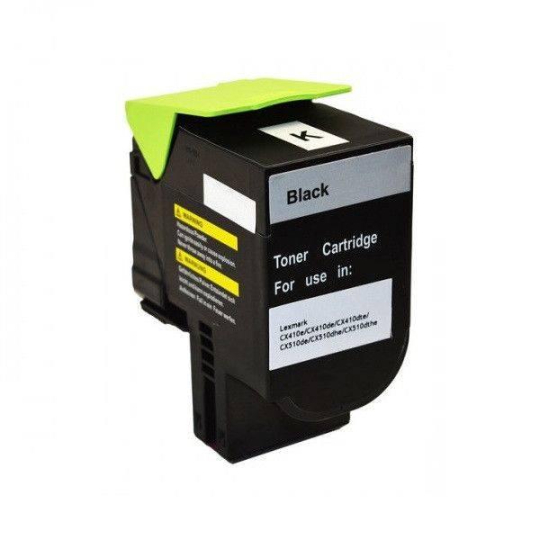 Cartus compatibil Lexmark CX410/CX510 BK - 80C20K0
